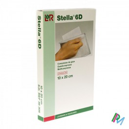 Kompres Steriel  Stel 6D 10X20 12L 5 stuk