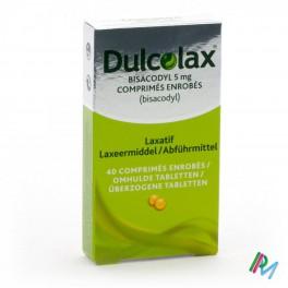 Dulcolax Bisacodyl 5mg 40 drag