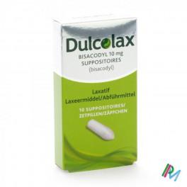 Dulcolax Bisacodyl 10mg 10 supp