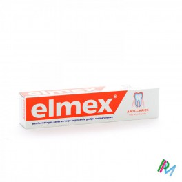Elmex Tandpasta Anti Caries Volwassen Tube 75 Ml