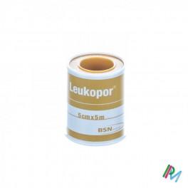 Leukopor Fourreau Sparadrap 5,00 Cmx5,0 M 1 0247400