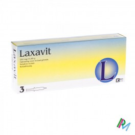 Laxavit Micro Enema Inj 3 X12 Ml