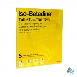 Iso Betadine Tulles Compr 5 10 X10