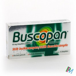 Buscopan 10mg 6 supp