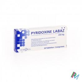 Pyridoxine 250mg 20 tabl