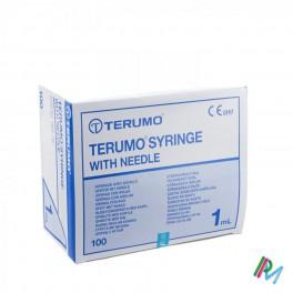 Wegwerp Spuit  Tuberculine Terumo M-Naald 26G0,5 100St 1,0 ml