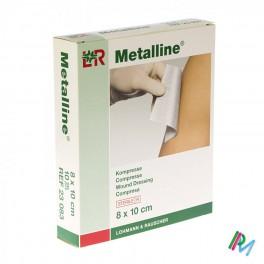 Kompres Steriel  Metalline  8X10 Abs Nkl 23083 10 stuk