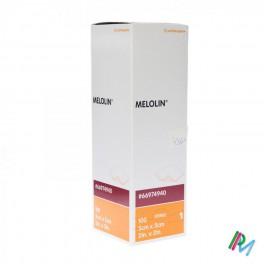 Kompres Steriel  Melolin  5X5 Abs Nkl 100 stuk