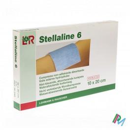 Kompres Steriel  Stellaline 6 10X20 Abs Nkl 5 stuk