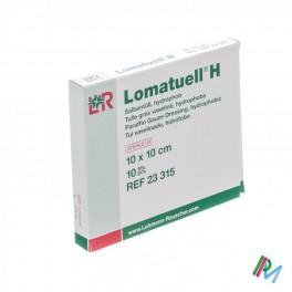 Lomatuell H Kompres Ster 10 X10 Cm 10 23315
