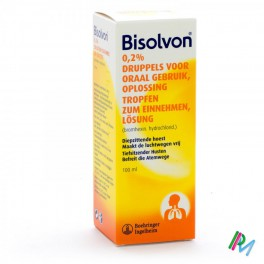 Bisolvon 2mg/ml Oraal 100 drup