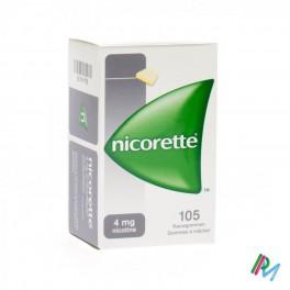 Nicorette Kauwgom 105 X4 Mg