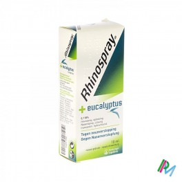 Rhinospray+ Eucalyptus Microd 10 Ml