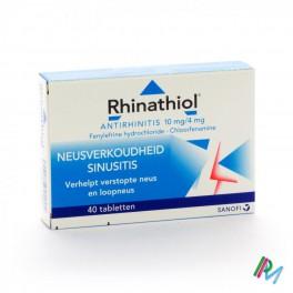 Rhinathiol Antirhinit 40 tabl
