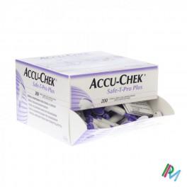 Accuchek Safe-T-Pro Plus 200 lanc