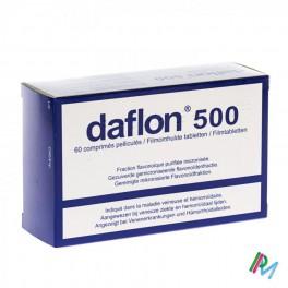 Daflon Impexeco Comp 60 X500 Mg Pip - Zwitserse Apotheek