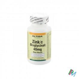 Altisa Zinc Bislycinate 40 Mg Comp 90