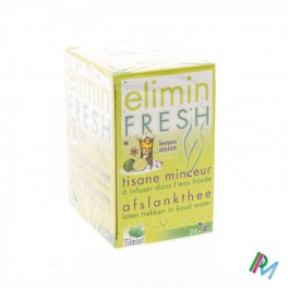 Thee  Elimin Fresh Citroen/Anijs 24 zakjes