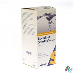 Lactulose Sandoz 500 sir