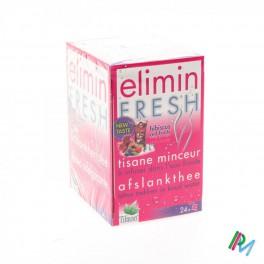 Elimin Frische Hibiscus Red Fruits Teebeutel 24