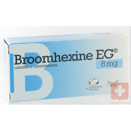 Bromhexine 8mg Eg 50 tabl
