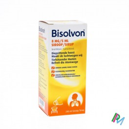 Bisolvon Siroop 1 X 200 Ml 8 Mg/5 Ml