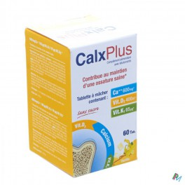 Calx Plus Vanilla Tabl 60 - Zwitserse Apotheek – ordering ...