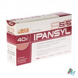 Kompres Steriel  Ipansyl 5X5 8L 40 stuk