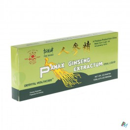 Ginseng Amp Buv 10 X 1300 Mg/10 Ml