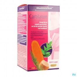 Mannavital Cartilaton 120 capsulen