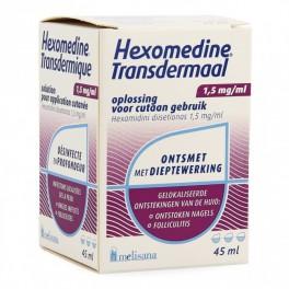 Hexomedine Transc 0,15% 45 opl