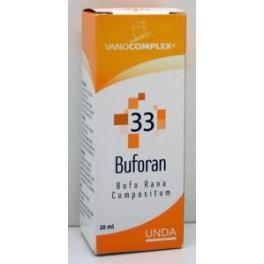 Vanocomplex  33 Buforan (Vallende Ziekte) 20 drup